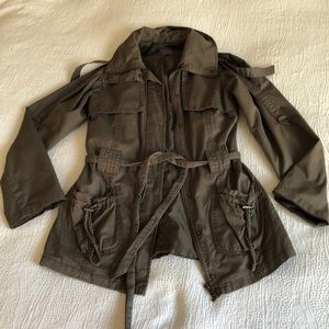 Army green Jacket. Forever 21 size S
